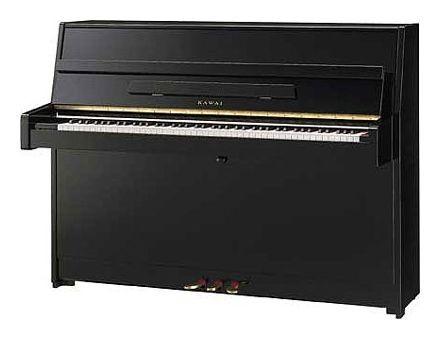 KAWAI K-15 E/P Klavier schwarz poliert
